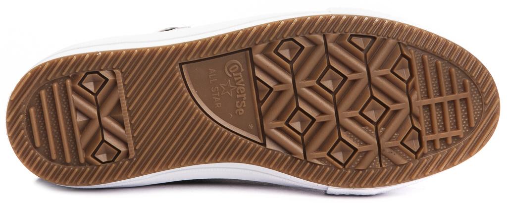 miniature 6 - CONVERSE-Chuck-Taylor-WP-Leather-Impermeable-Sneakers-Bottes-pour-Femmes-Nouveau