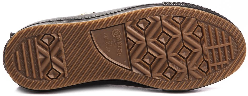 miniature 11 - CONVERSE-Chuck-Taylor-WP-Leather-Impermeable-Sneakers-Bottes-pour-Femmes-Nouveau
