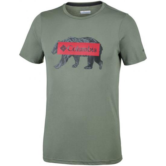 T-Shirt męski COLUMBIA Box Logo Bear EM0745316