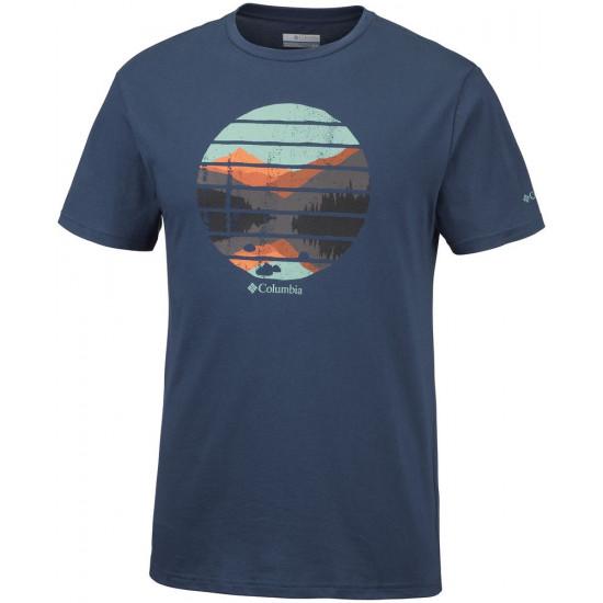 T-Shirt męski COLUMBIA Lana Montaine EM0731469