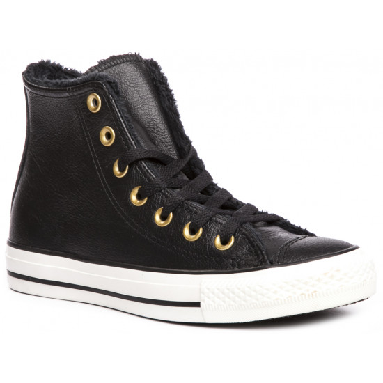 Trampki damskie CONVERSE Chuck Taylor All Star Leather Fur 557925C
