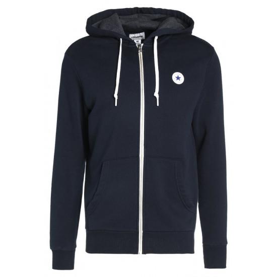 Bluza męska CONVERSE Core Full Zip Hoodie 10004627-A01