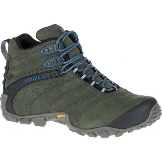 Buty męskie MERRELL Chameleon II Waterproof Mid Leather J09377