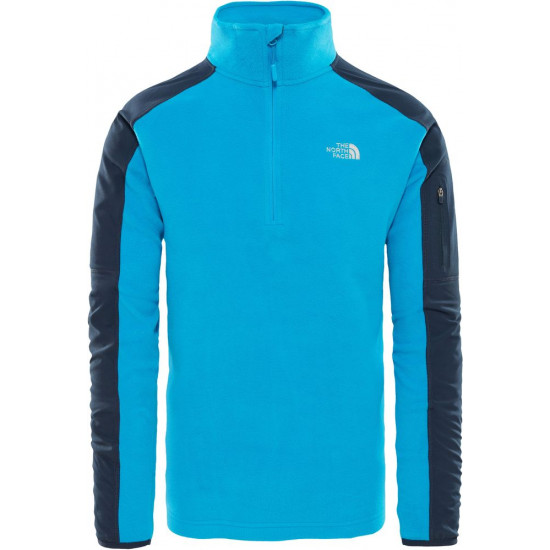 Bluza męska THE NORTH FACE Glacier Delta 1/4 Zip T92UAPQZJ
