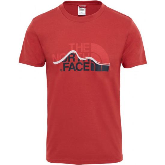 T-Shirt męski THE NORTH FACE Mountain Line T0A3G2ZBN