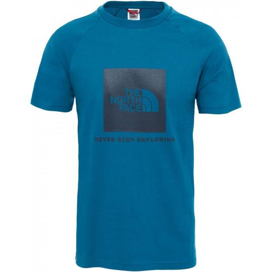 T-Shirt męski THE NORTH FACE Raglan Red Box T93BQOEFS