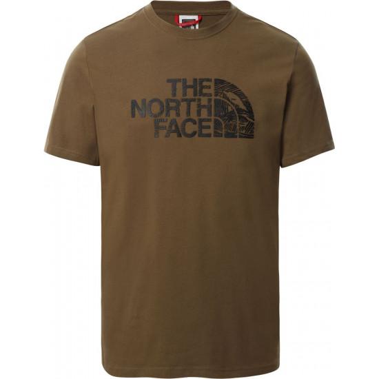 T-Shirt męski THE NORTH FACE Woodcut Dome T0A3G137U
