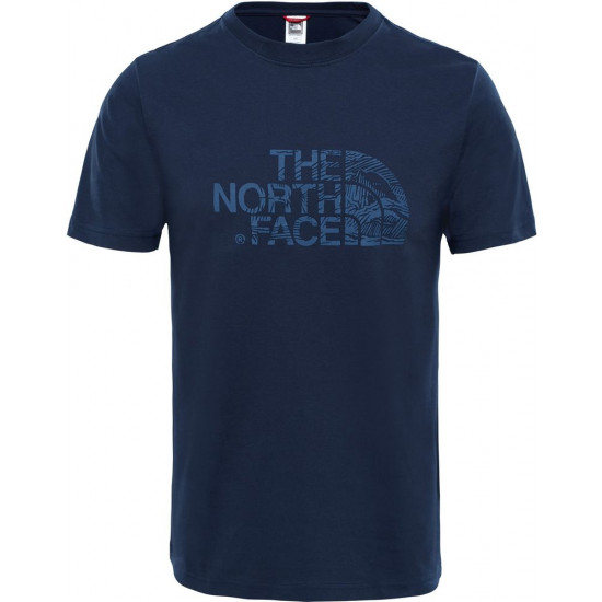 T-Shirt męski THE NORTH FACE Woodcut Dome T0A3G1H2G