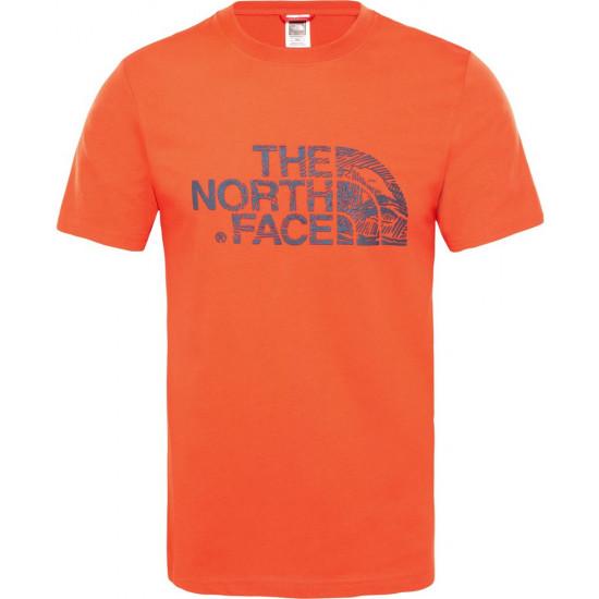 T-Shirt męski THE NORTH FACE Woodcut Dome T0A3G1M4Q