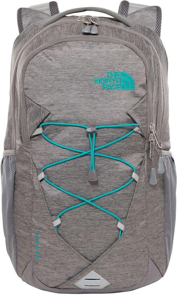 szukać sprzedaż uk najniższa cena Plecak THE NORTH FACE Jester Womens T93KV86FY Zinc Grey Light  Heather/Kokomo Green