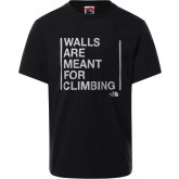 T-Shirt męski THE NORTH FACE Walls Are Meant For Climbing T93S3S0GY