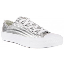 Trampki damskie CONVERSE Chuck Taylor All Star II Perforated Metallic Leather 555800C