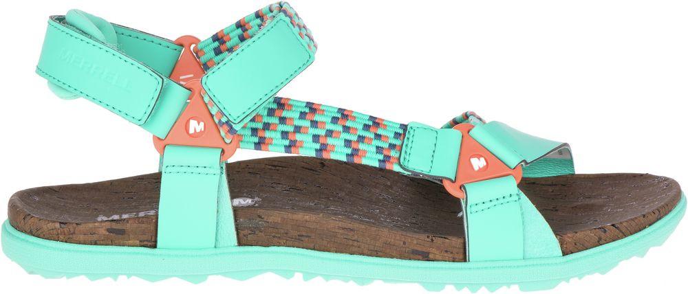 Sandały MERRELL Around Town Sunvue Woven J94152 Turquoise
