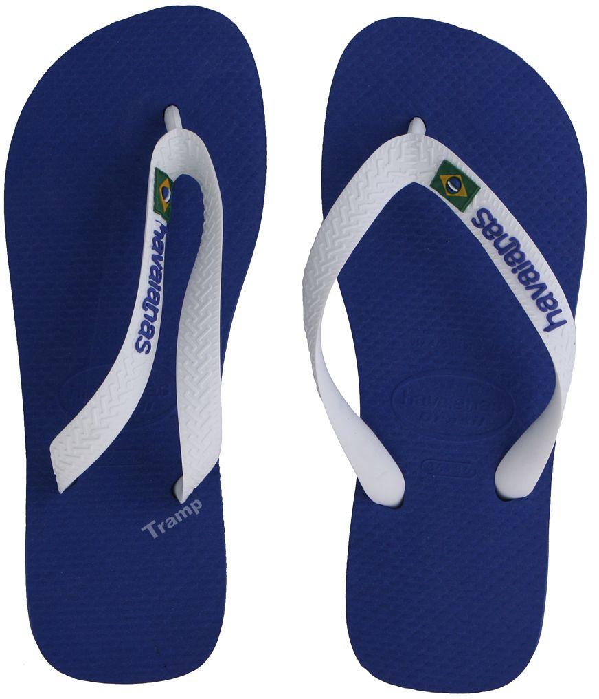Havaianas Brasil Logo Damen Zehentrenner Badeschuhe Badelatschen für Sommer 0001
