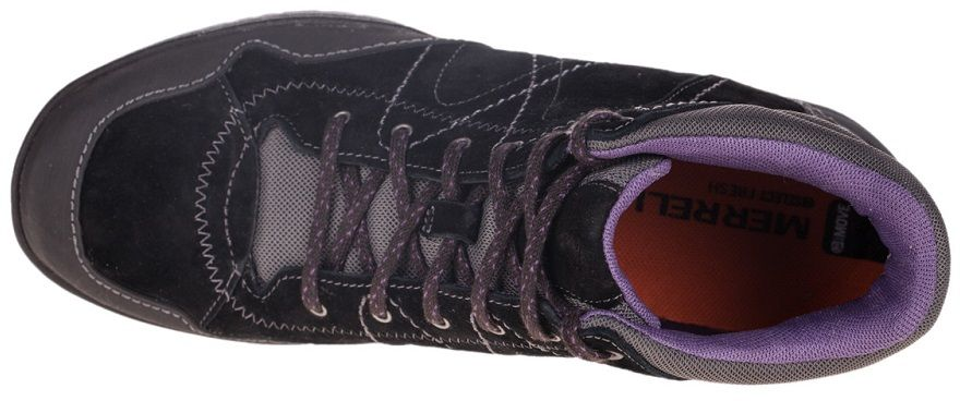 Merrell-Albany-Cuff-Chaussures-Femmes-de-Marche-en-Cuir-Randonnee-Sneakers-Baske