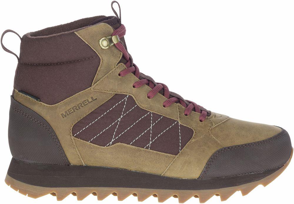 Merrell Alpine Trainer Polar Waterproof Insulated Sneaker Boots Mens