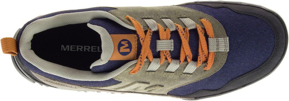 Merrell Allegato RECLUTA Outdoor Escursionismo Escursionismo Escursionismo Trekking Scarpe Da Ginnastica Athletic Scarpe Da Uomo Nuovo 42303a