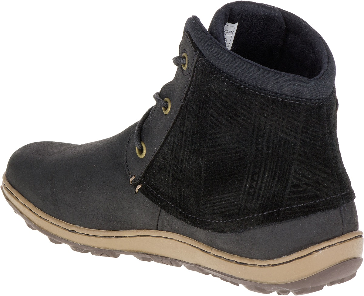 Femmes Merrell Sneakers Vee Cuir Bottes En Ankle D'hiver Chaussures Ashland 4HSHIR