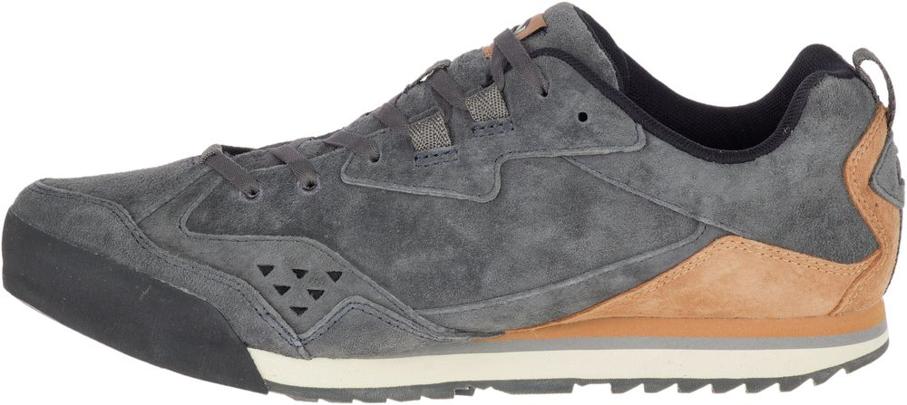 MERRELL-Burnt-Rock-Tura-Suede-Sneakers-Casual-Athletic-Trainers-Shoes-Mens-New thumbnail 8