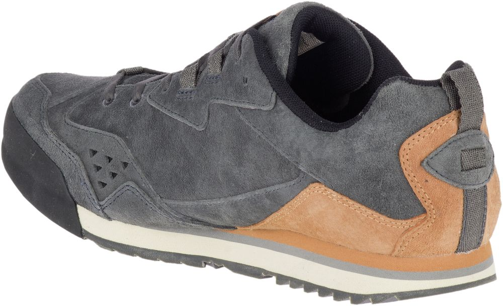 MERRELL-Burnt-Rock-Tura-Suede-Sneakers-Casual-Athletic-Trainers-Shoes-Mens-New thumbnail 9