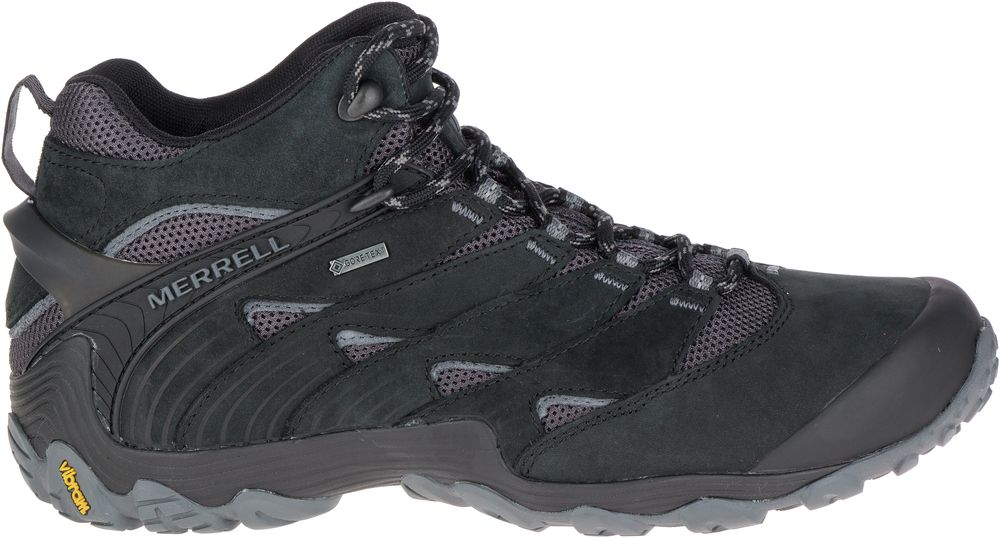 b67c749efc5d MERRELL Chameleon 7 Mid Gore-Tex Outdoor Hiking Shoes Boots Mens All ...