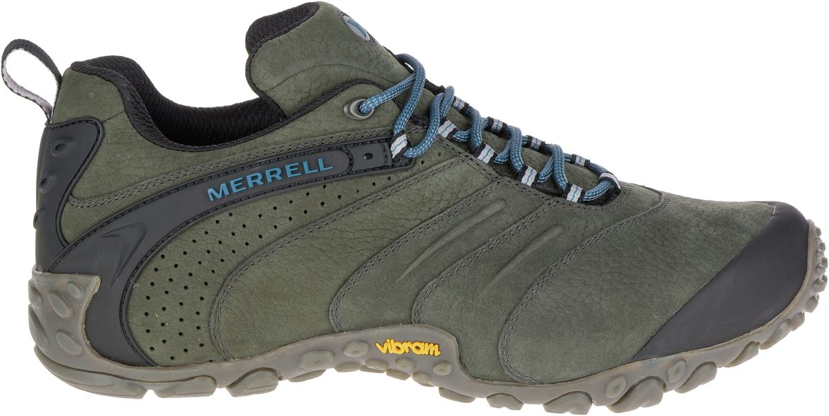 550f30357af Merrell Chameleon II Leather Mens Sneakers Walking Hiking Shoes Trainers New