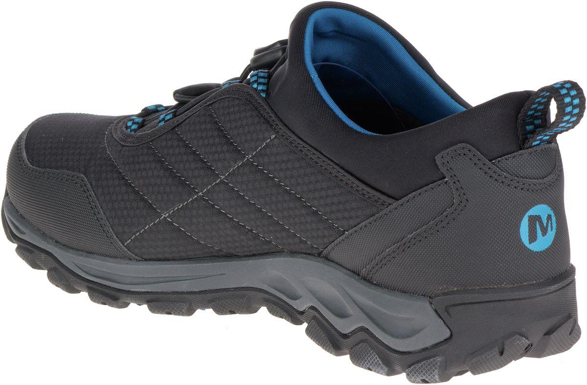 Merrell Men S Jungle Moc Pro Grip Work Shoe Black