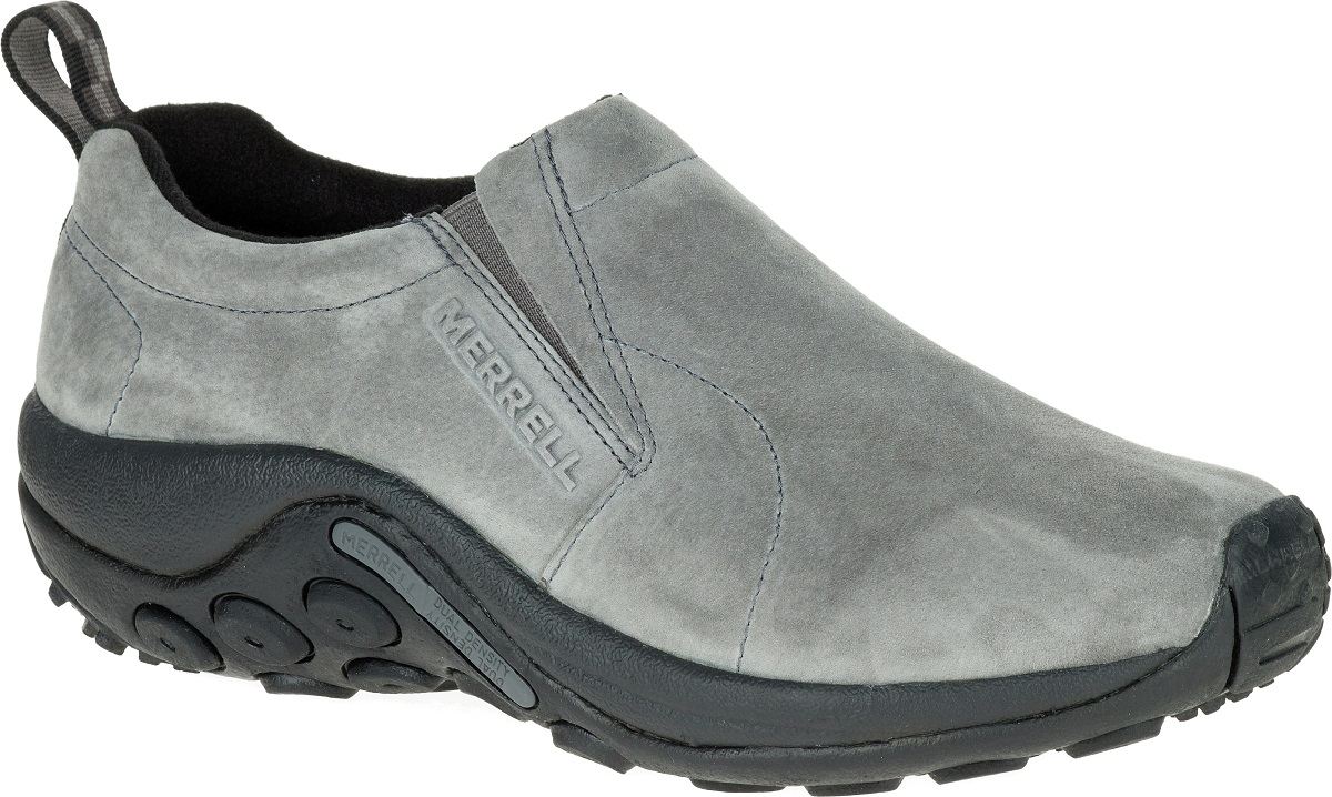 Merrell Mens Jungle MOC Suede Country Escape Shoes J60787 Grey kfetMUO