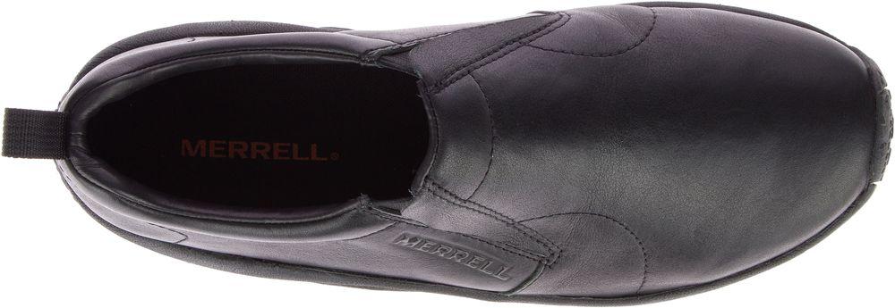 miniature 5 - MERRELL Jungle Moc Prime Cuir Sneakers Baskets à Enfiler Chaussures pour Hommes
