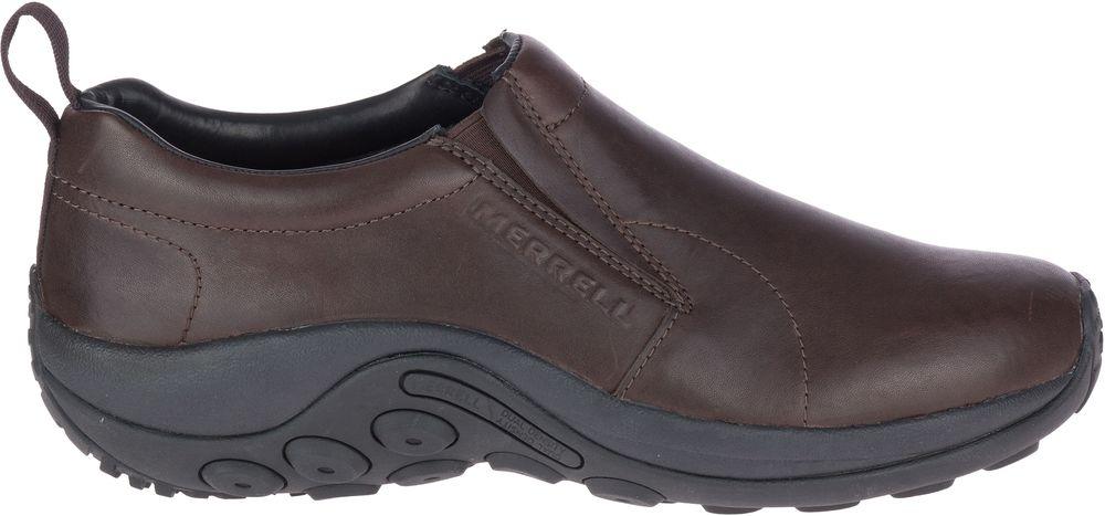 miniature 8 - MERRELL Jungle Moc Prime Cuir Sneakers Baskets à Enfiler Chaussures pour Hommes