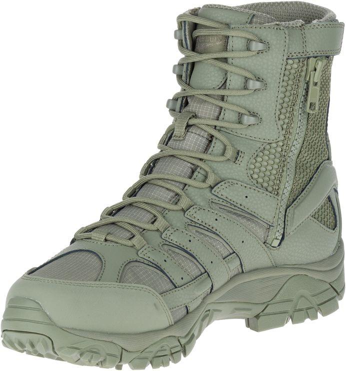 MERRELL-Moab-2-8-034-Waterproof-Tactiques-Militaires-de-Combat-Bottes-pour-Hommes miniature 22