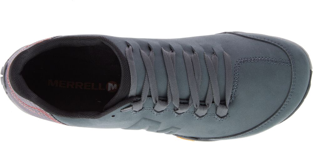 MERRELL-Parkway-Emboss-Lace-Barefoot-Sneakers-Baskets-Chaussures-pour-Hommes miniature 15