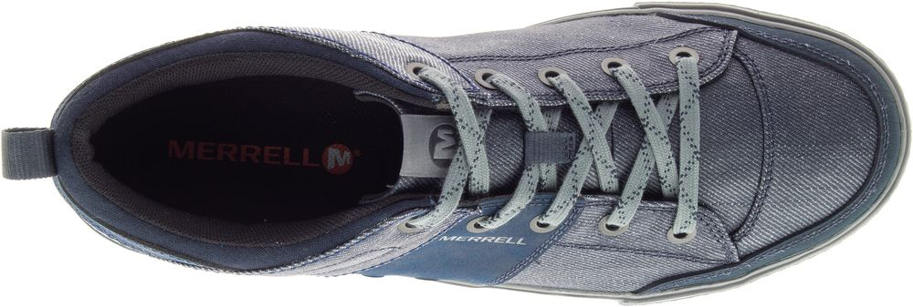 MERRELL-Rant-Discovery-Lace-Canvas-Sneakers-Casual-Athletic-Shoes-Mens-All-Size thumbnail 20