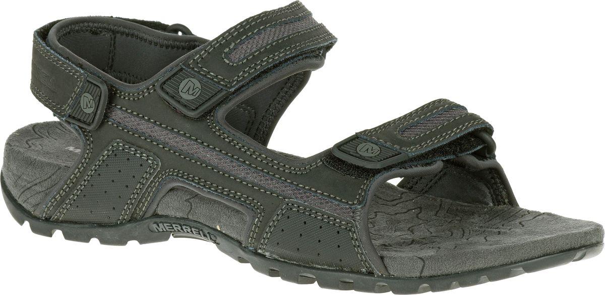 Merrell Sandspur Oak Mens Sport Hiking Leather Sandals Shoes Summer All Size New