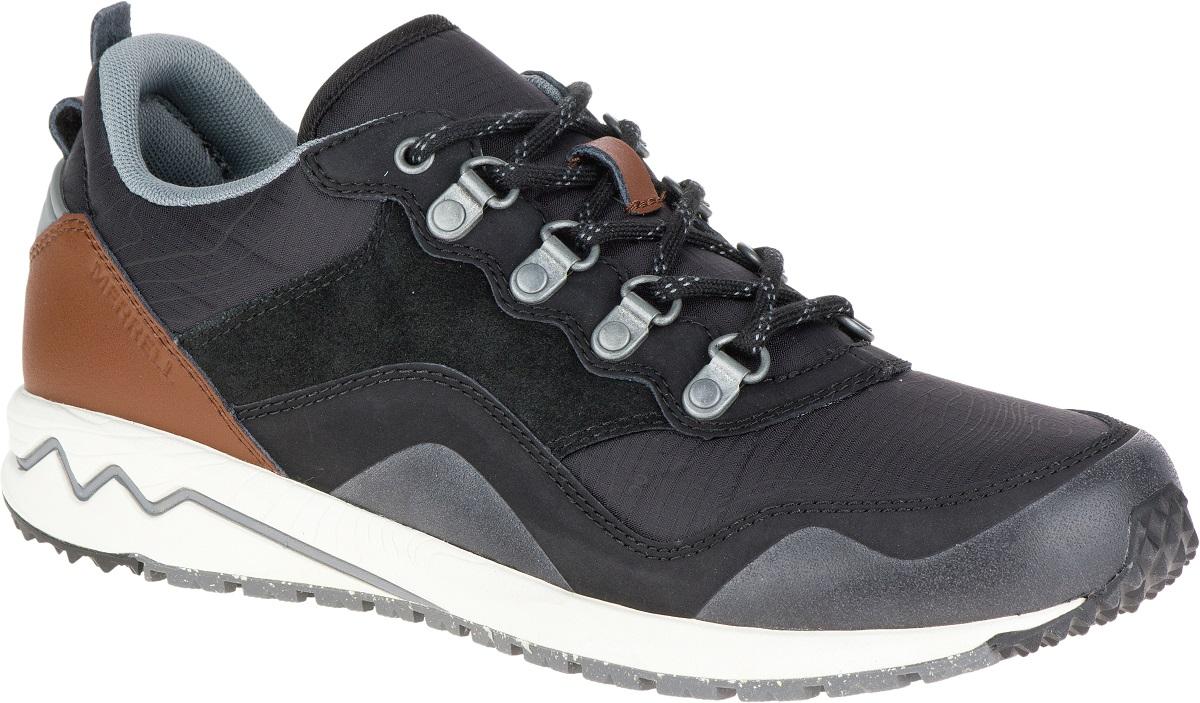 Merrell Stowe Damen Sneakers Leder Schuhe Freizeitschuhe Sneakers ... 5a4061effa