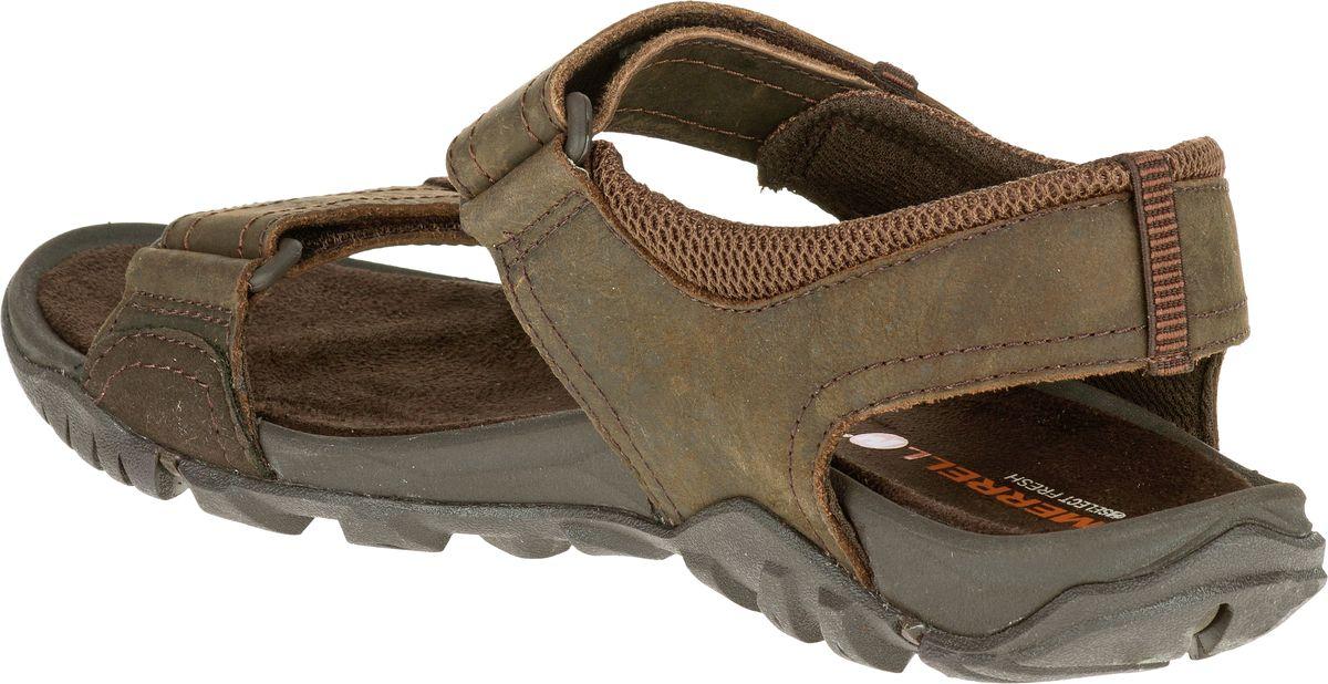 Merrell Telluride Strap Sandali Uomo Pelle Tempo Libero Sandali Trekking Sandali