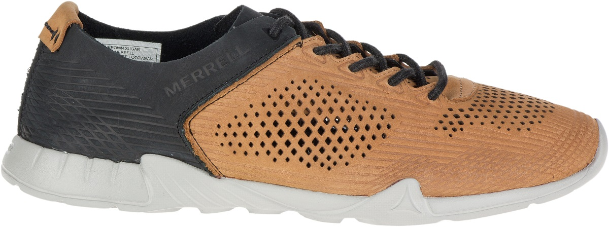quality design c2920 2f48f Merrell Versent Leather Perf hommes Sneakers Casual Sneakers hommes  Chaussures Athletic Trainers New 19c084