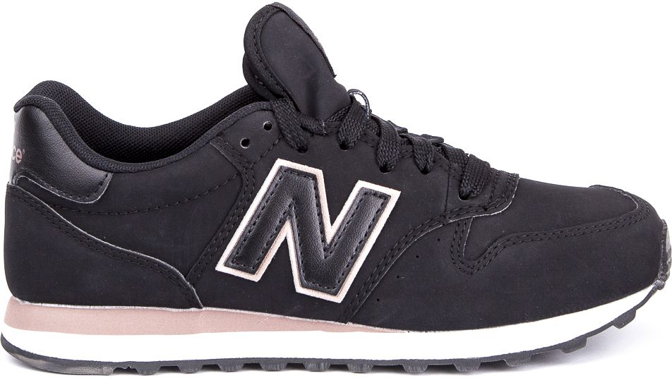new balance 500 trainers in black