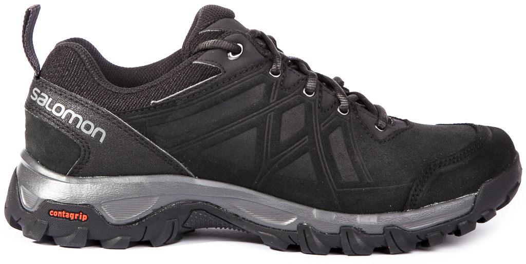 Details about Salomon Evasion 2 LTR Leather Mens Trekking Hiking Shoes Outdoor Trainer Sneaker