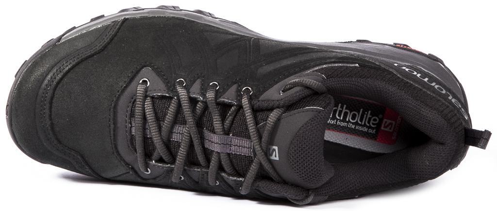 SALOMON EVASION 2 LTR Leather Mens Trekking Hiking Shoes