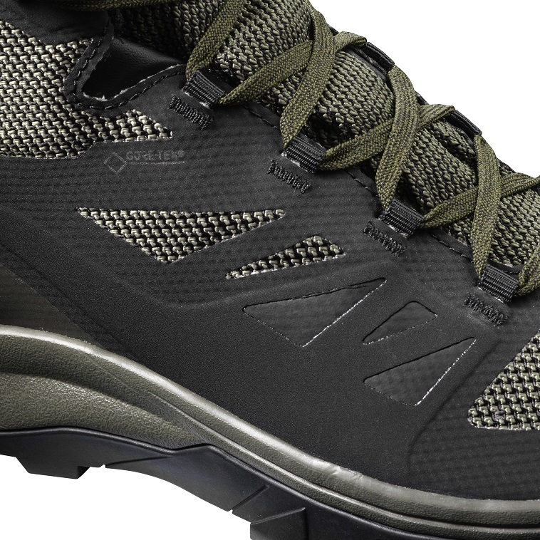 SALOMON Outline Mid Gore-Tex Outdoor Hiking Trekking Athletic Athletic Athletic Schuhes Stiefel  Herren 6d45a5