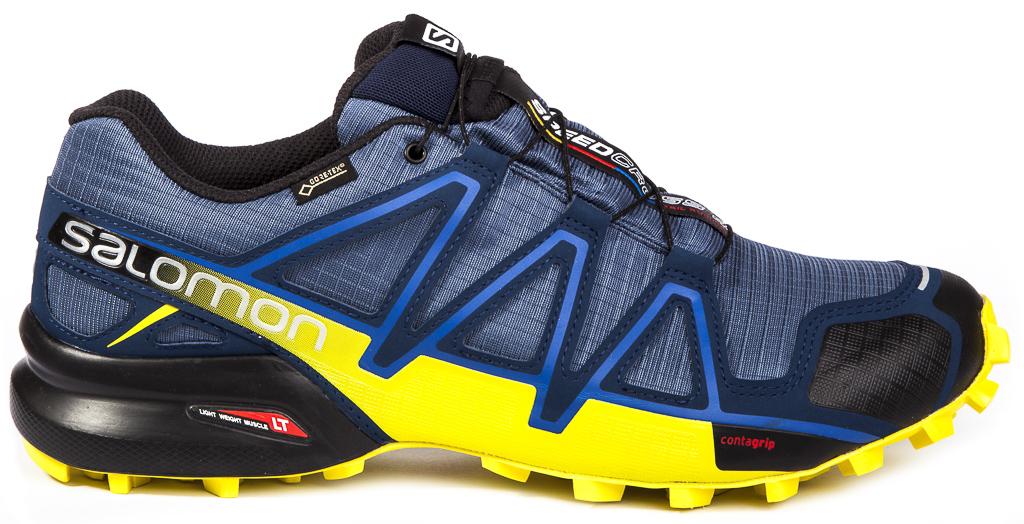 Homme Wings Flyte 2 GTX Chaussures de Course à Pied Et Trail Running, Synthétique/Textile, Noir, Pointure: 45 1/3Salomon