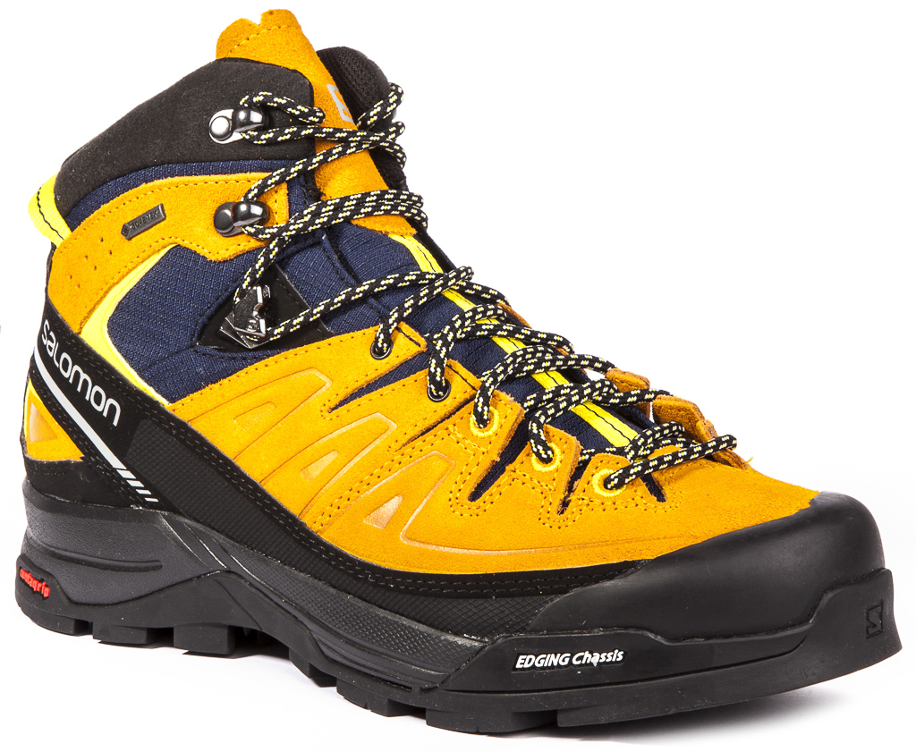 Salomon X Alp Mid LTR Gore-Texu00ae Mens Trekking Hiking Shoes ...