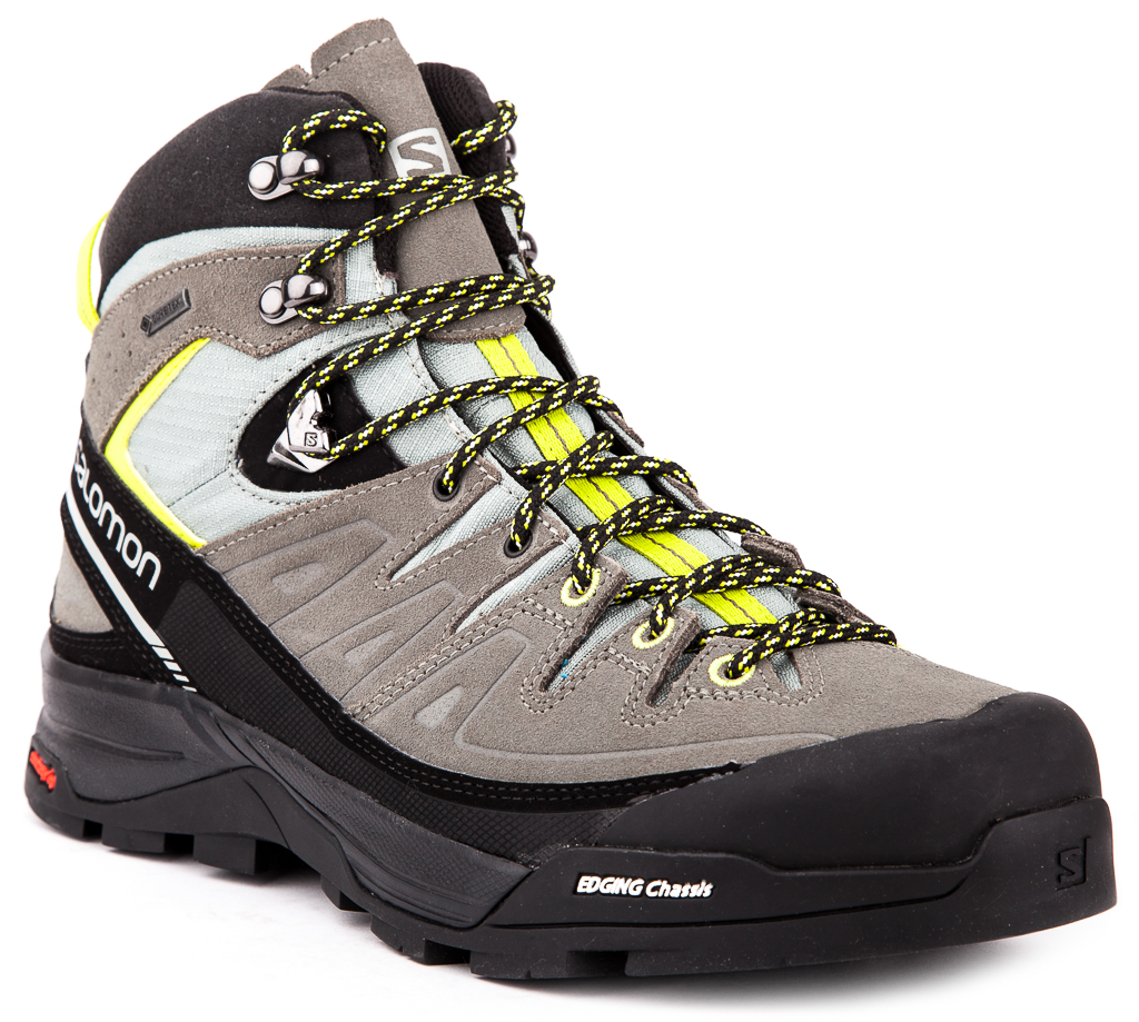Salomon X Alp Mid LTR Gore-Tex® Mens Trekking Hiking Shoes Outdoor Original New | eBay