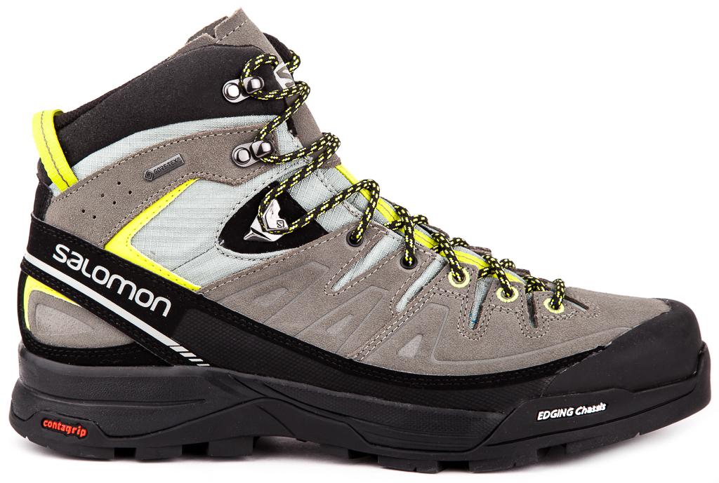 081c0a29c56d Salomon X Alp Mid LTR Gore-Tex® Mens Hiking Shoes Outdoor Athletic ...