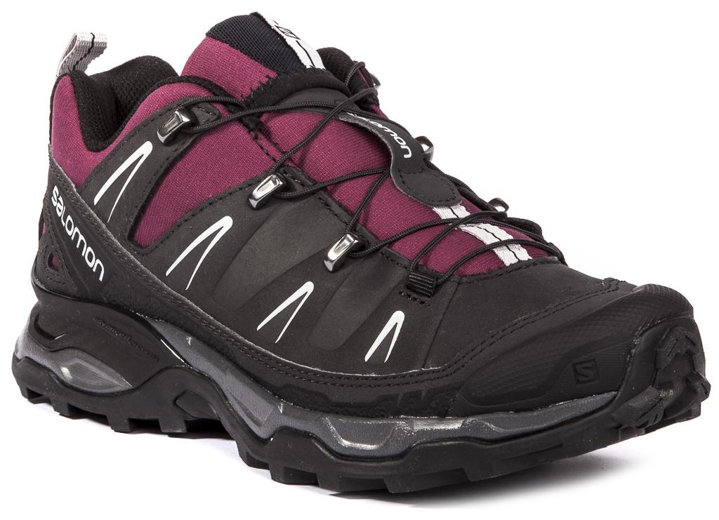 Salomon X Ultra LTR Leder Damen Wander- Schuhe Wander- Damen Trekkingschuhe Sneaker Turnschuhe 05face