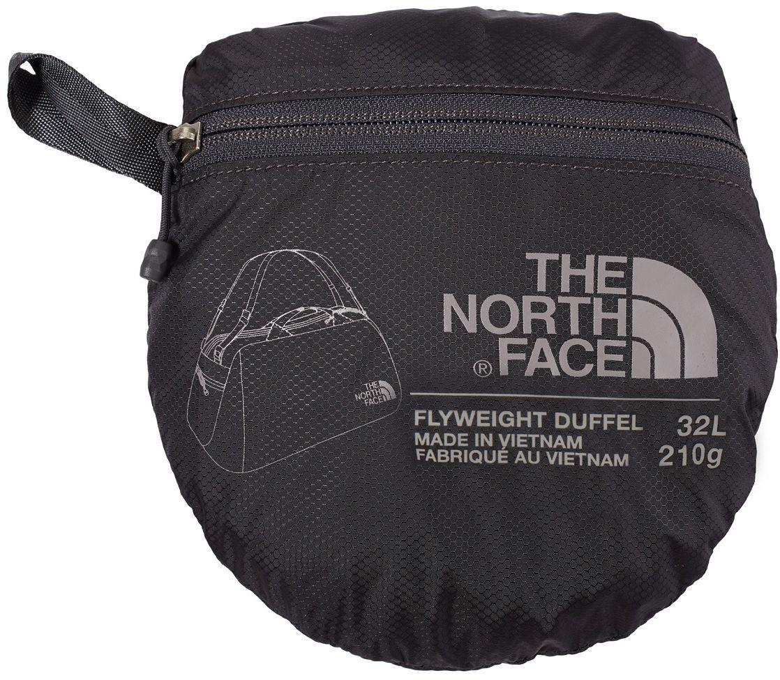 The-North-Face-Tnf-Flyweight-Duffel-Sac-de-voyage-Sac-de-Sport-Original-Nouveaute miniature 5