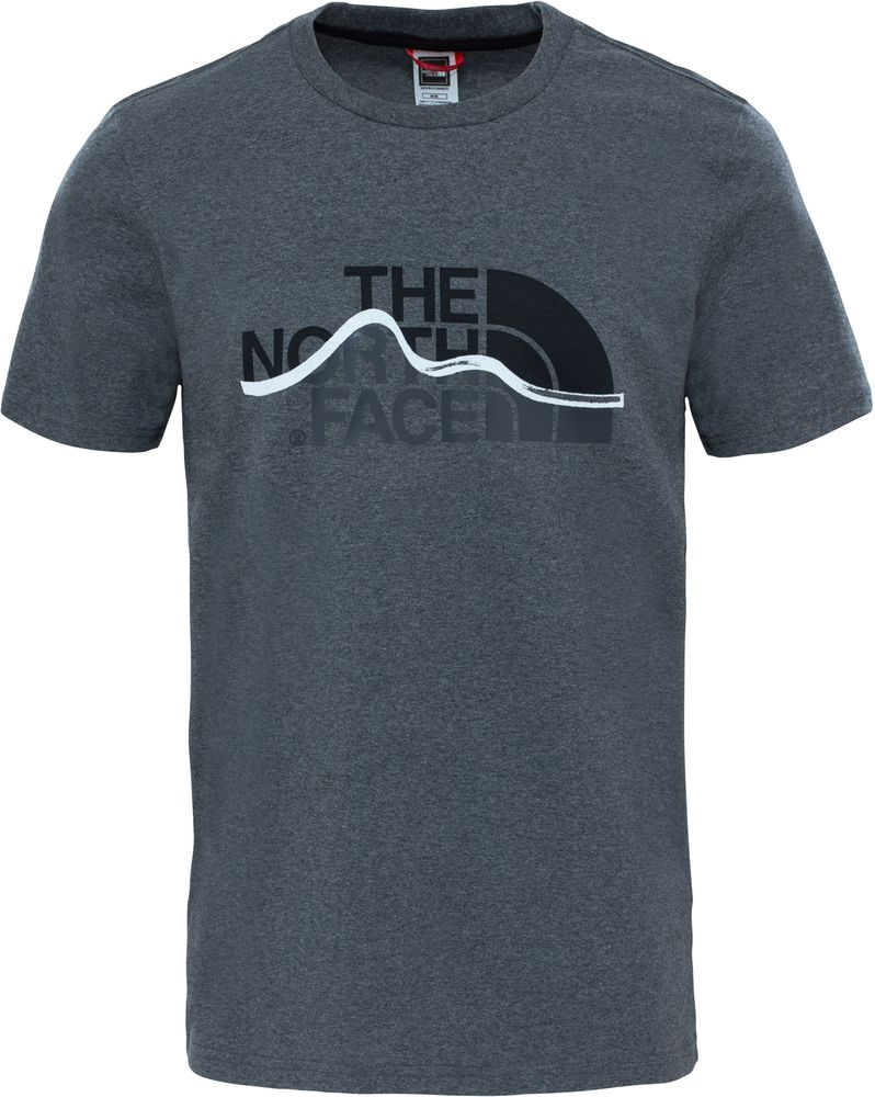THE-NORTH-FACE-TNF-Mountain-Line-Coton-T-Shirt-Manches-Courtes-Hommes-Nouveau miniature 8
