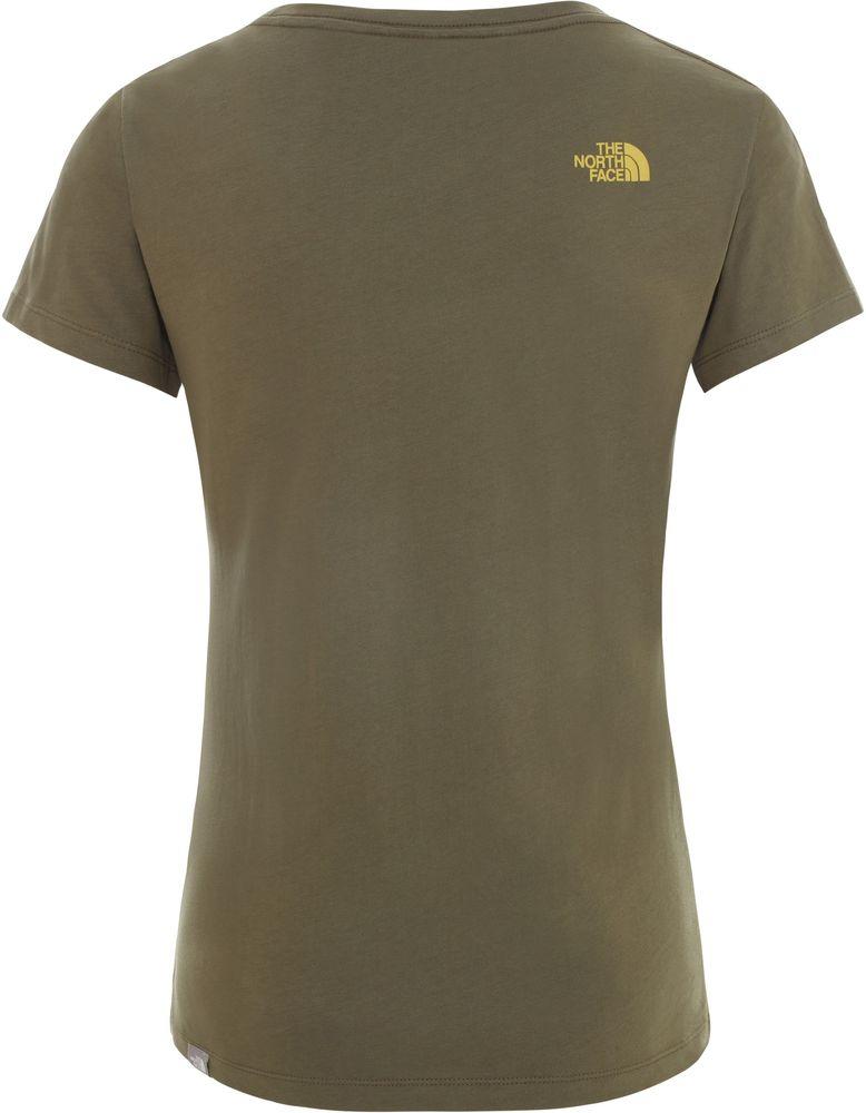 miniature 3 - THE-NORTH-FACE-NSE-Decontracte-Coton-T-Shirt-Manches-Courtes-Femmes-Nouveau