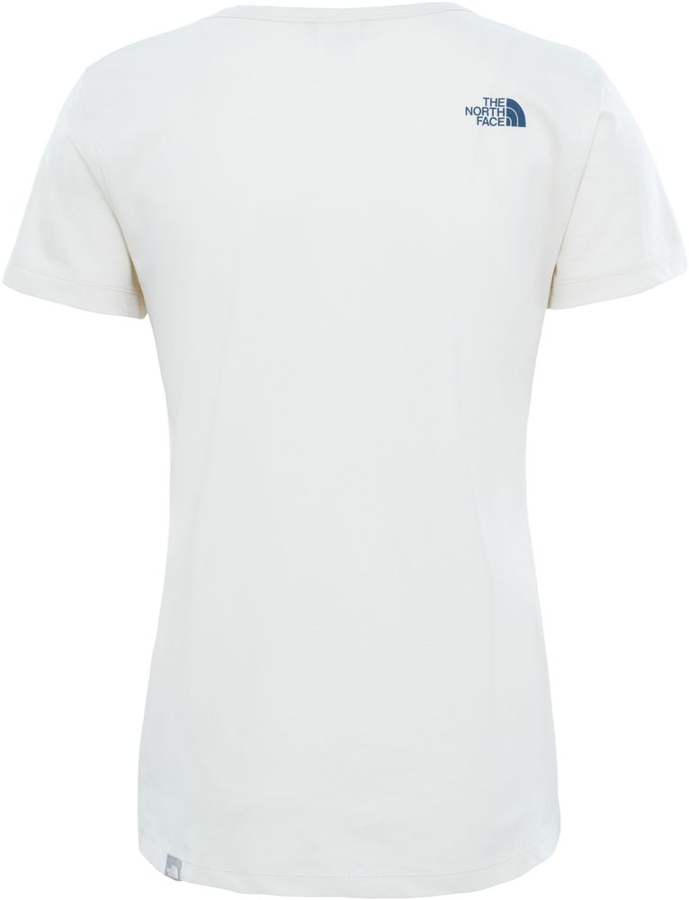 The-North-Face-TNF-simple-cupula-de-Algodon-Camiseta-de-manga-corta-camiseta-para-mujer-Todas-las miniatura 3